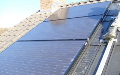 Solar World mono panelen in dak