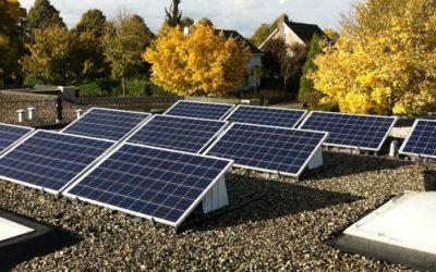 Solar World poly plat dak