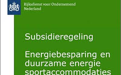 Subsidie sportaccommodaties